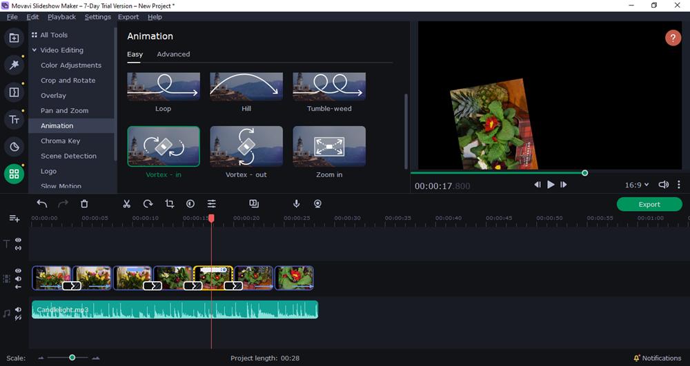 slideshow - animacio